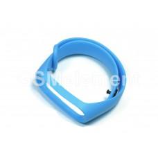 Ремешок для фитнес браслета Xiaomi Mi Band 3/Mi Band 4, голубой