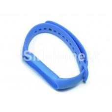 Ремешок для фитнес браслета Xiaomi Mi Band 5, синий