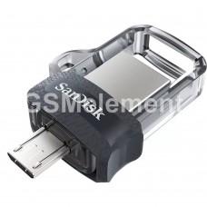 USB флеш-накопитель 32Gb SanDisk Dual Drive m3.0 (OTG micro USB)