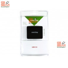 USB HUB Smartuy 4 port SBHA-6000-K (USB 3.0), black
