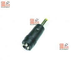 Переходник для зарядки с 5.5*2.1 mm на 4.0*1.7 mm (короткий)