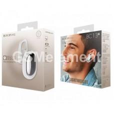 Bluetooth гарнитура Borofone BC13, белый