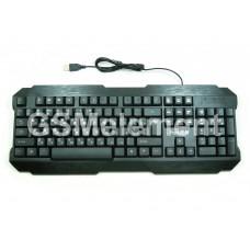 Клавиатура проводная мембранная FaisOn, Verge KB316, чёрный