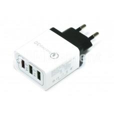 СЗУ AR-QC-03 Quick Charge (3*USB выхода 5 V/4.8 A, QC3.0)