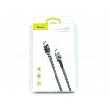 USB датакабель Type-C (m) - Type-C (m), Baseus Cafule, (PD2.0/ 3.0 A/ 2.0 m), grey/black