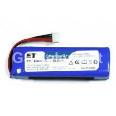 Аккумулятор ET CS-JML310SL для JBL Charge 2+ (6000 mAh 3.7V Li-Pol) с обратной полярностью