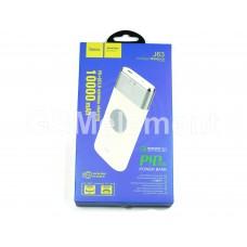 Внешний аккумулятор Hoco J63 10000 mAh (micro + Type-C/PD, USB QC 3.0, беспроводная зарядка), белый