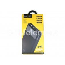 Внешний аккумулятор Hoco B35E 30000 mAh (3*USB выхода, входы Type-C + micro, дисплей), чёрный