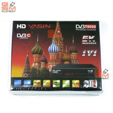 ТВ-приставка HD Yasin DVB-T8000 (DVB-T2)