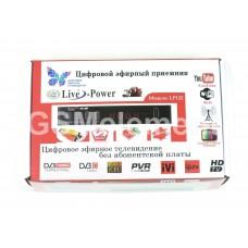 ТВ-приставка Live-Power LP122 (DVB-T2/ внешний БП)