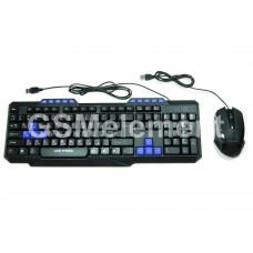 Клавиатура проводная + мышь (комплект) Live-Power, LP303-K, игровая