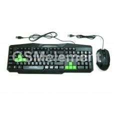 Клавиатура проводная + мышь (комплект) Live-Power, LP302-K, игровая
