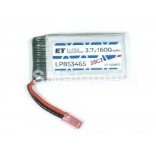 АКБ высокотоковая Energy Technology LP 853465 20CJ 3,7v Li-Pol 1600 mAh