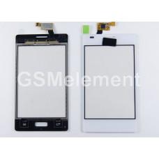 Тачскрин LG E612 Optimus L5 белый
