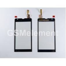 Тачскрин Sony C5302/C5303/C5306 Xperia SP чёрный