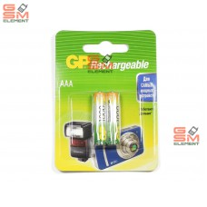 Аккумулятор AAA GP 100AAAHC-BL2 1000mAh