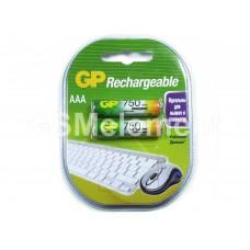 Аккумулятор AAA GP 75AAAHC-BL2 750mAh