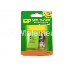 Аккумулятор GP T207 NiMh, 550 mAh
