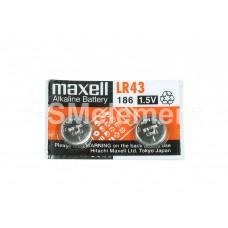 Элемент питания Maxell G12 (LR43) BL10
