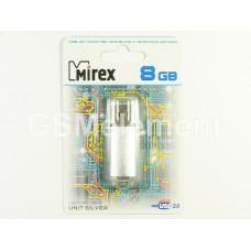 USB флеш-накопитель 8Gb Mirex USB 2.0 UNIT Silver