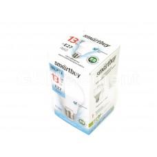 Лампа светодиодная SmartBuy A60, E27, 13Вт/220-240В/4000К (холодный свет)