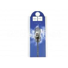 USB датакабель Type-C Hoco X14 Times speed (2.1 A/ 1.0 m) в переплёте, чёрный