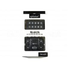FM-модулятор Eplutus FM-629 (Bluetooth/micrоSD/AUX/USB/microUSB/пульт) чёрный