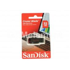 USB флеш-накопитель 32Gb SanDisk Z50 Cruzer Blade Black/Red