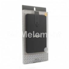 Внешний аккумулятор Proda NoteBook PPP-7, 30000 mAh чёрный под кожу (4 USB выхода, дисплей)