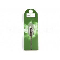 USB датакабель micro USB Hoco X14 Times speed (2.0 m/ 2.1A) в переплёте, чёрный