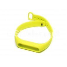 Ремешок для фитнес браслета Xiaomi Mi Band 2, Strap Original series, зелёный