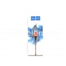 USB датакабель Type-C Hoco X14 Times speed (3.0 A/ 2.0 m) в переплёте, красный