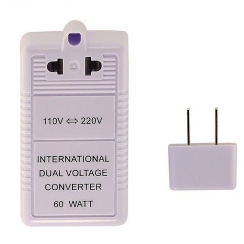 Международный адаптер путешественника 110V-220V-110V 60W