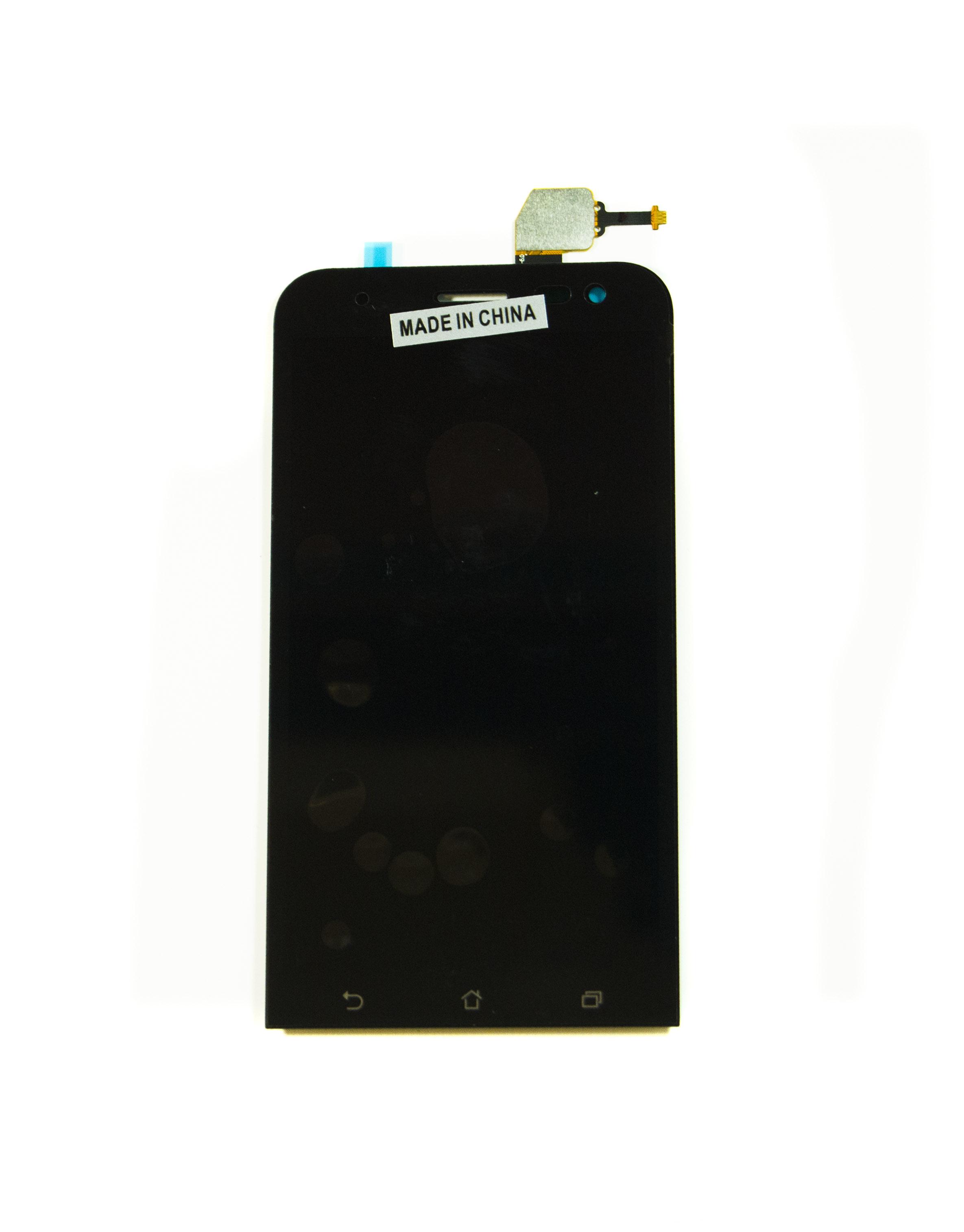 Дисплей Asus ZenFone 2 Laser (ZE500KL/ZE500KG/Z00ED) в сборе с тачскрином чёрный