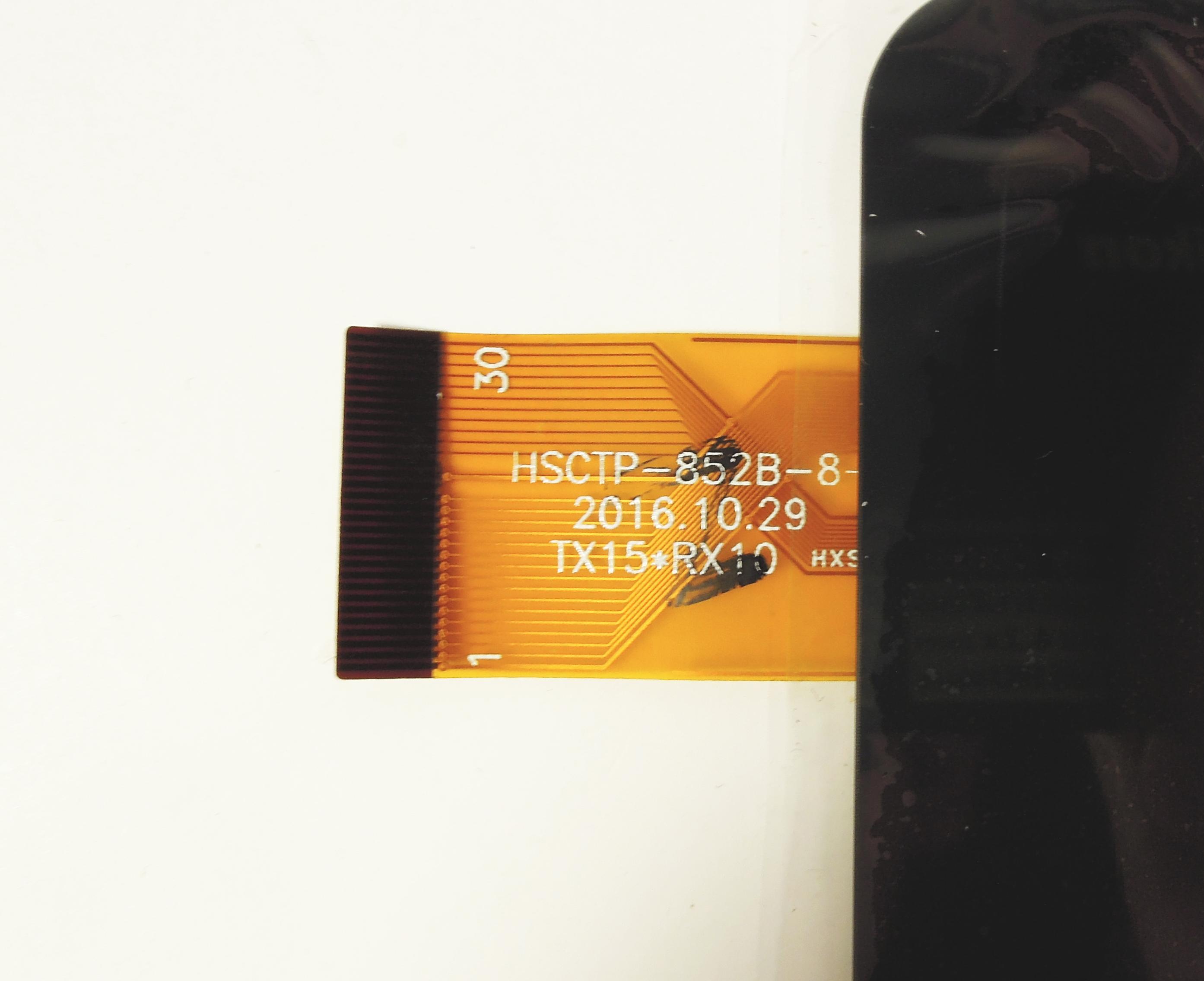 "Тачскрин 8.0"" China Tab (p/n HSCTP-852B-8-V0), 30 pin, чёрный"