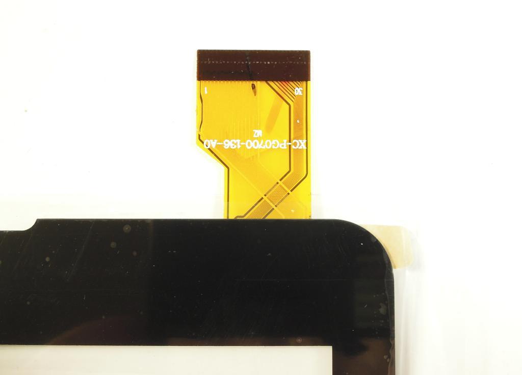 "Тачскрин 7.0"" BQ Mobile 7021G/ DEXP Ursus KX170 (p/n XC-PG0700-136-A0), 30 pin, чёрный"