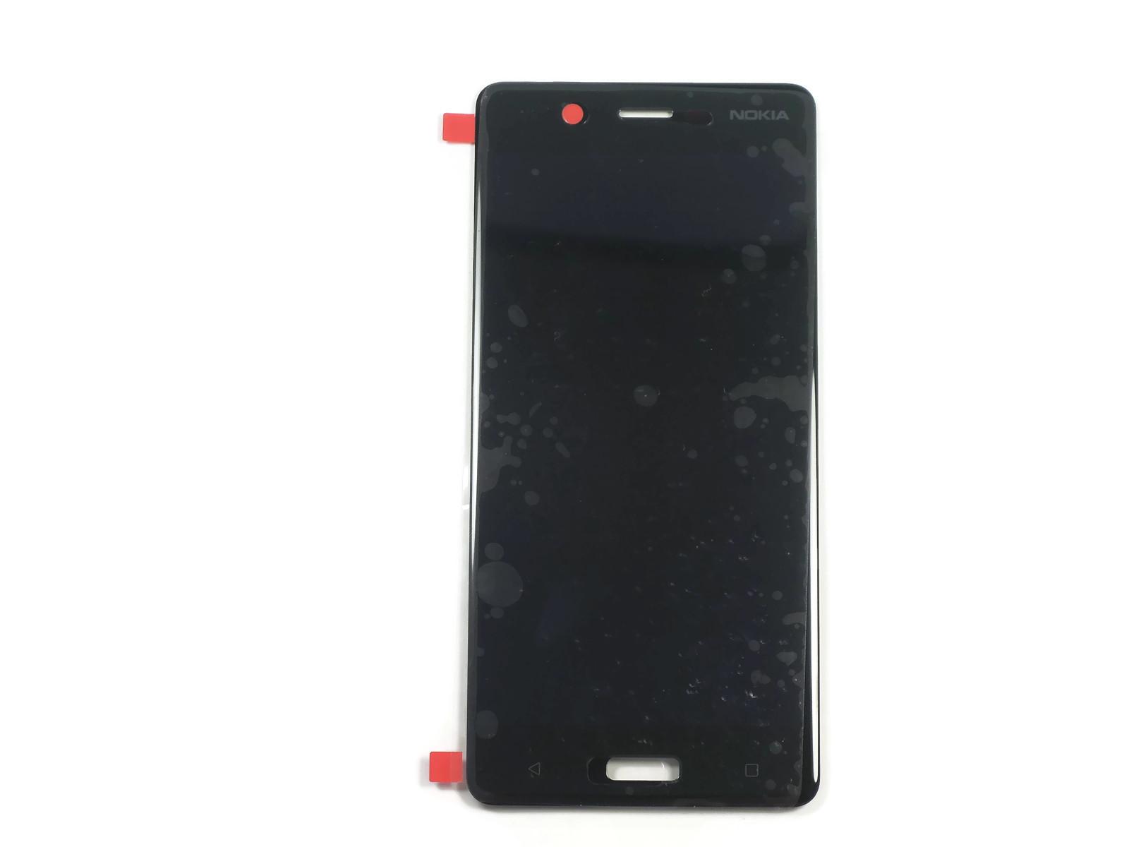 Дисплей Nokia 5 Dual Sim (TA-1053) в сборе с тачскрином чёрный, оригинал