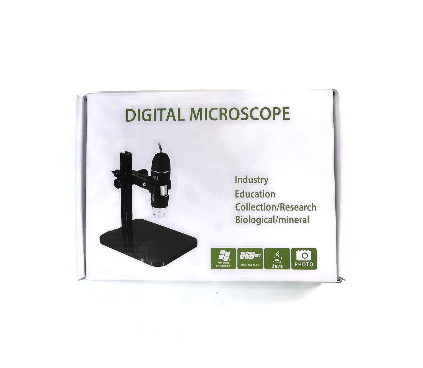 Микроскоп цифровой USB 500X со штативом