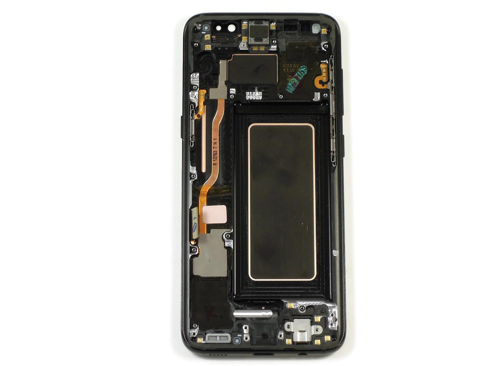 Дисплей Samsung SM-G950F Galaxy S8 (Black) в сборе, оригинал used