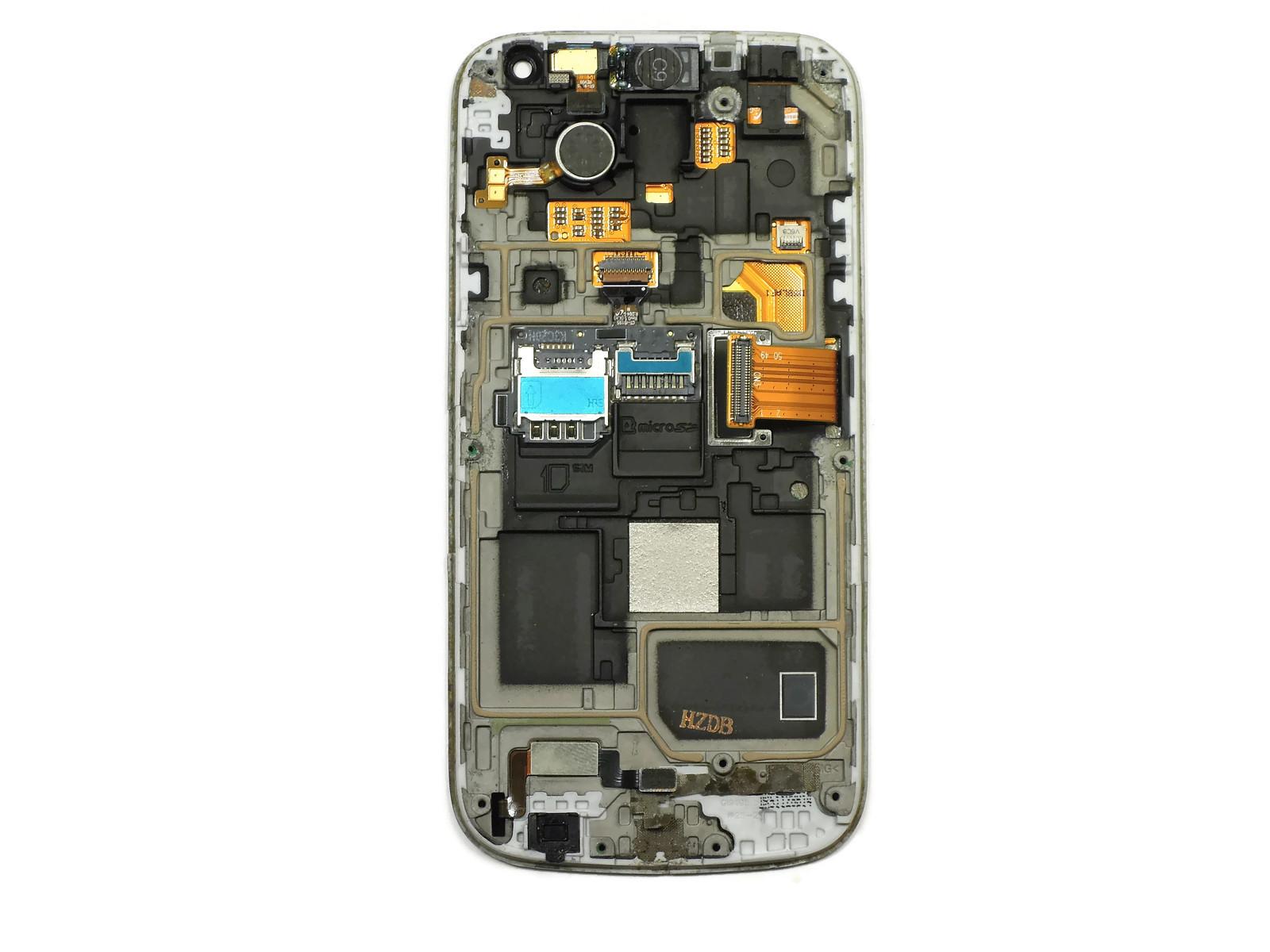 Дисплей Samsung i9190/i9192/i9195 Galaxy S4 mini в сборе (Black), оригинал used