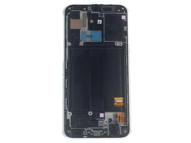 Дисплей Samsung SM-A405F Galaxy A40 в сборе с тачскрином (Black), оригинал