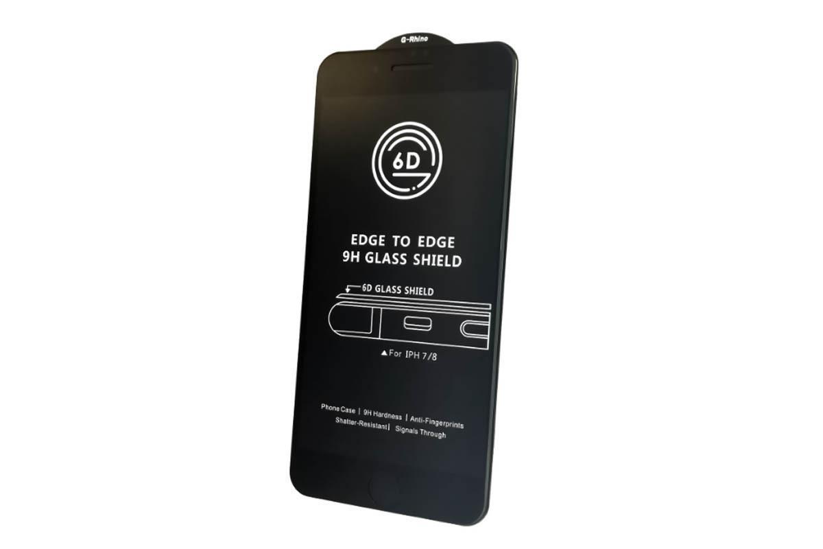 Защитное стекло для Xiaomi Redmi Note 7/ Note 7 Pro, G-Rhino 6D, Premium, чёрный